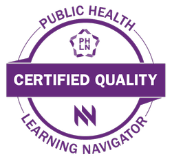 Public Health Learning Navigator Certified Quality