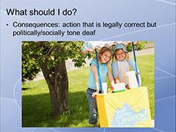 Screenshot of webinar slides.