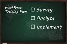 Blackboard reading: Workforce training plan: Survey, Analyze, Implement